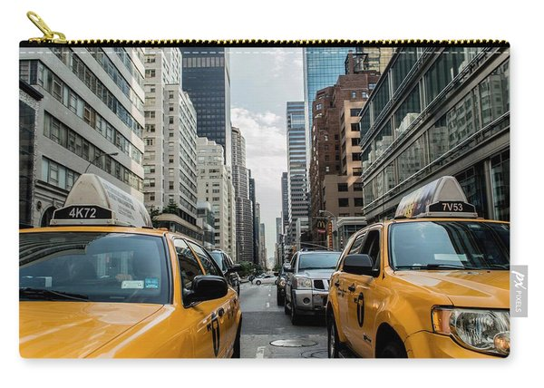 Ny Taxis Carry-all Pouch