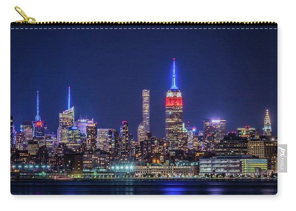 Nyc At The Blue Hour Carry-all Pouch