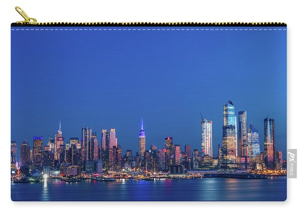 Nyc The Blue Hour Carry-all Pouch