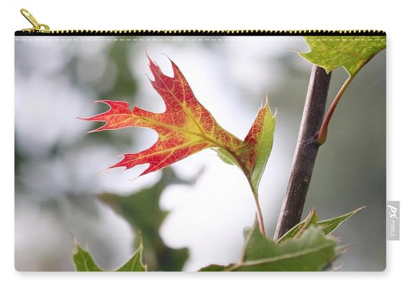 Oak Leaf Turning Carry-all Pouch