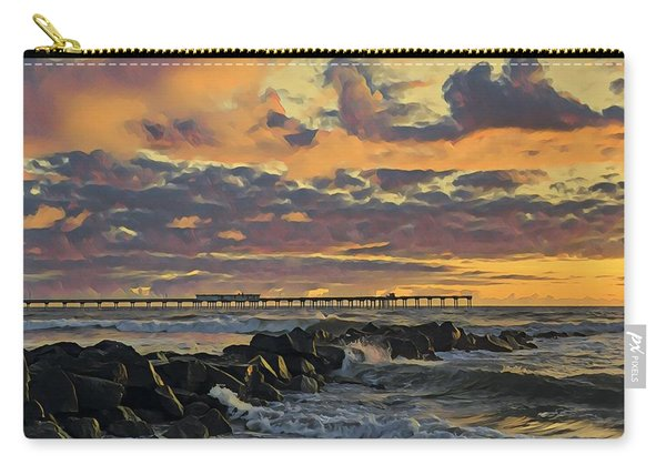 Ob Sunset No. 3 Carry-all Pouch