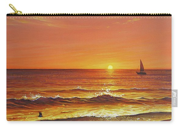 Ocean Of Fire Carry-all Pouch