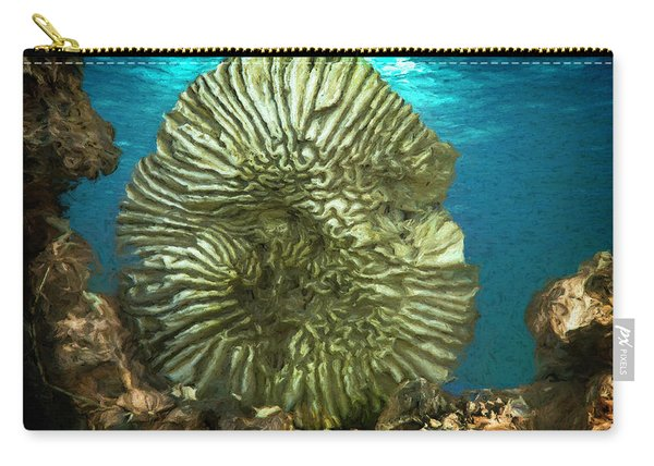 Ocean With Its Life Underground Carry-all Pouch