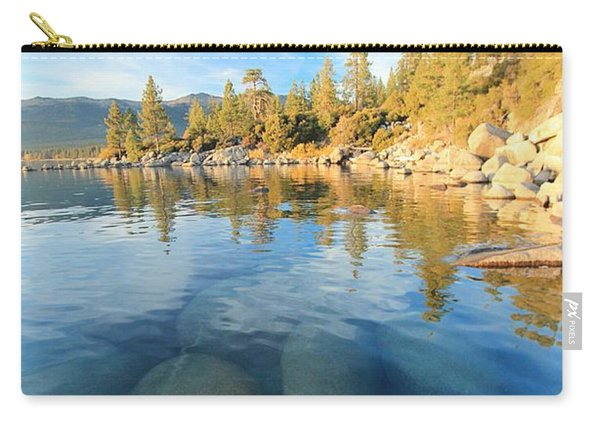 Carry-all Pouch featuring the photograph October Twilight  by Sean Sarsfield