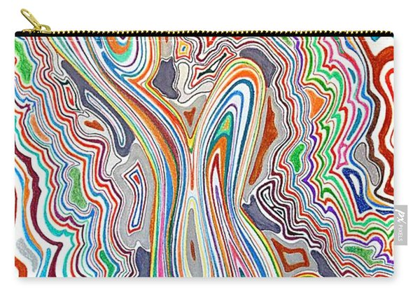 Ode To The Seventies Carry-all Pouch