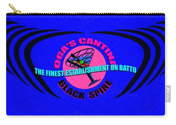Oga's Cantina Bar Mixer Design A Carry-all Pouch
