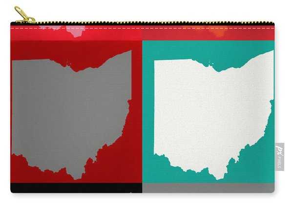 Ohio Pop Art Carry-all Pouch