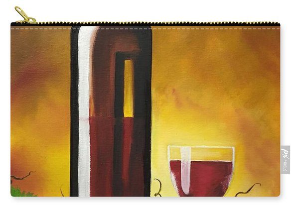 Okanagan Red  Carry-all Pouch