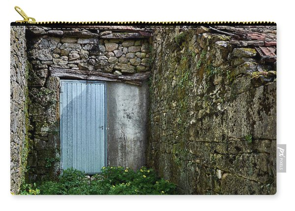 Old Abandoned House In Bainte Carry-all Pouch