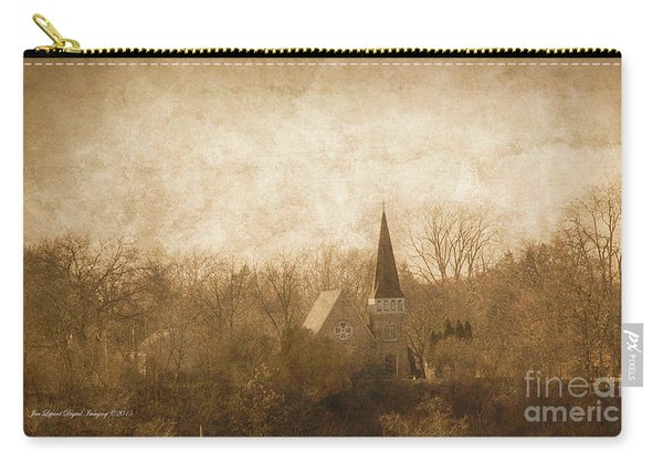 Old Church On A Hill  Carry-all Pouch