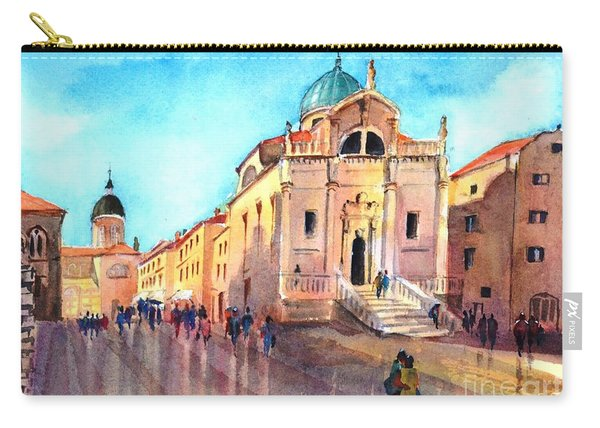 Old City Of Dubrovnik Carry-all Pouch