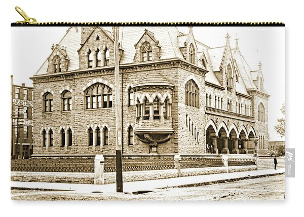 Old Customs House And Post Office, Evansville, Indiana, 1915 Carry-all Pouch