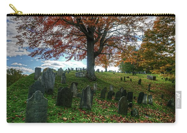 Old Hill Burying Ground In Autumn Carry-all Pouch