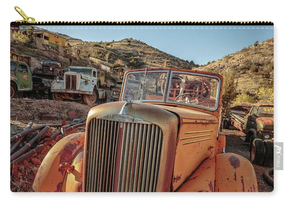 Old Mack Fire Engine Abandoned In Arizona Carry-all Pouch