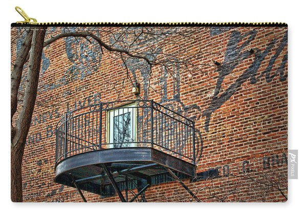 Old Market - Omaha - Metz Building - #4 Carry-all Pouch