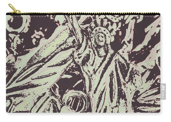 Old Nyc Decorations Carry-all Pouch