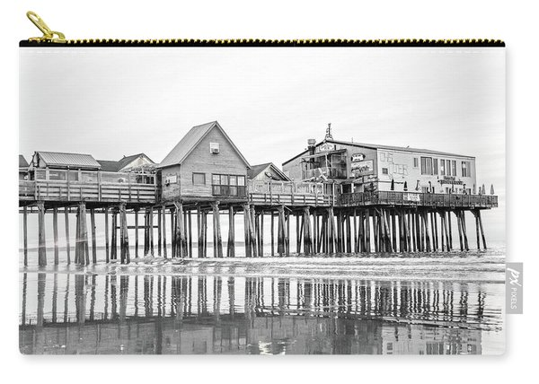 Old Orchard Beach Pier Good Morning Classic Carry-all Pouch