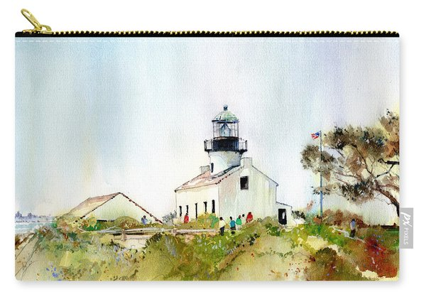 Old Point Loma Light Carry-all Pouch