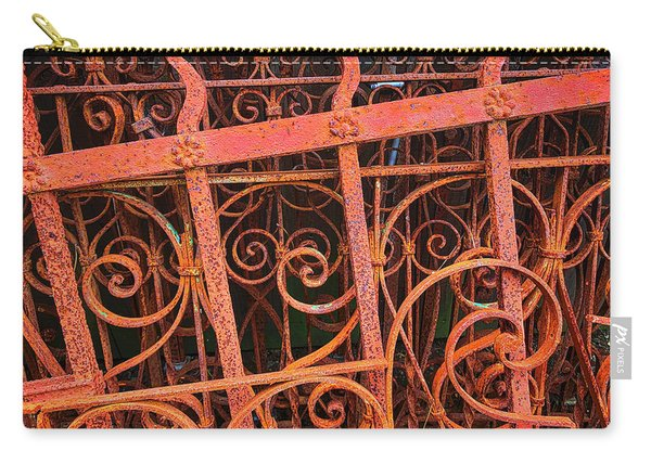Old Rusting Fences Carry-all Pouch