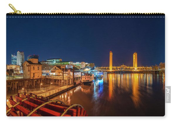 Old Sacramento Panorama Carry-all Pouch