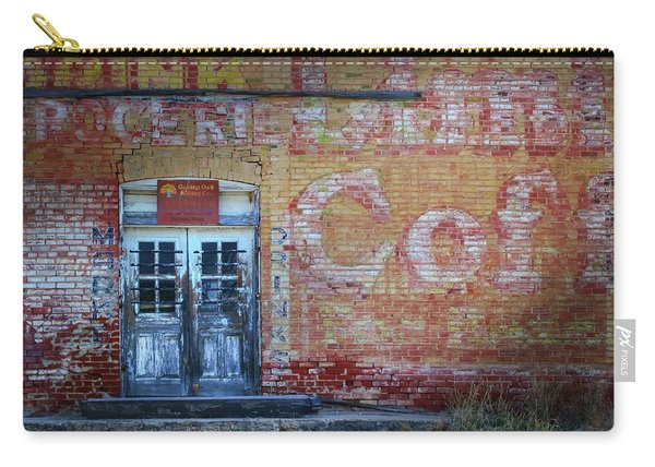 Old Texas Mercantile Carry-all Pouch