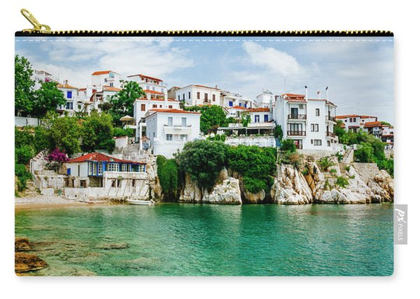 Old Town View Of Skiathos Island, Sporades, Greece.  Carry-all Pouch