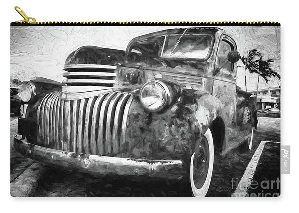 Old Truck  - Painterly Carry-all Pouch