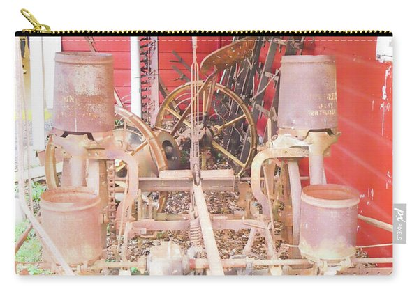 Old Vintage Farm Equipment 3 Carry-all Pouch