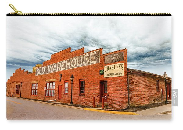 Old Warehouse In Farmville Virginia Carry-all Pouch