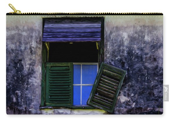 Old Window 2 Carry-all Pouch