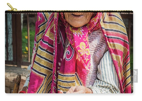 Old Woman Carry-all Pouch