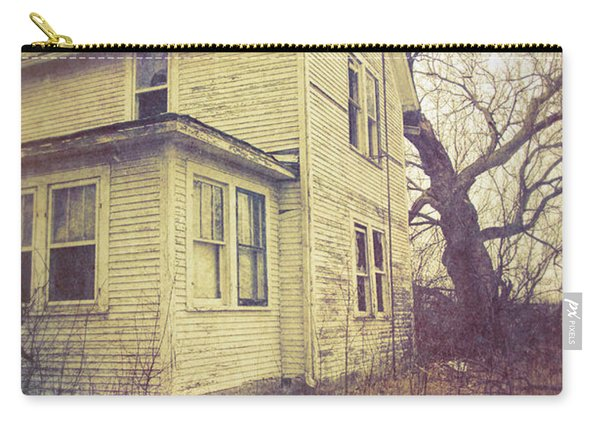 Old Yellow House Carry-all Pouch