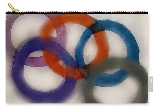 Olympic Games - Abstract Art By Vesna Antic Carry-all Pouch