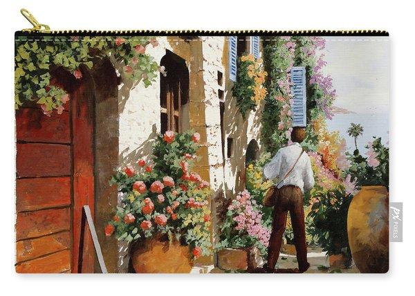 Omino Sulla Bella Strada Carry-all Pouch