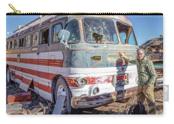 On Location Photographer Edward Fielding In Jerome Arizona Carry-all Pouch
