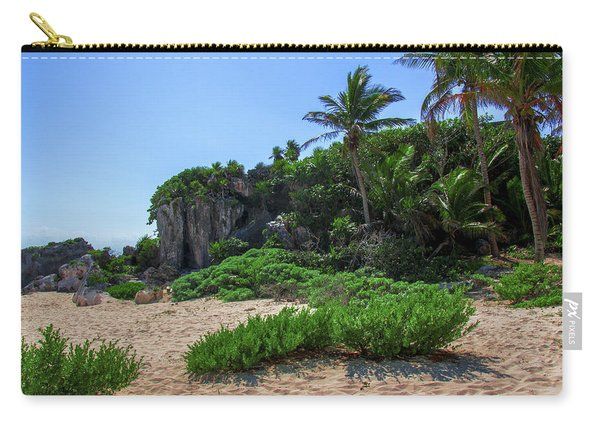 On The Coast Of Tulum Carry-all Pouch