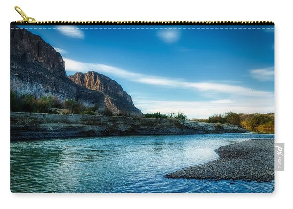 On The Rio Grande River Carry-all Pouch