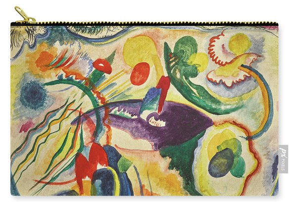 On The Theme Of The Last Judgment - Zum Thema Jungstes Gericht Carry-all Pouch