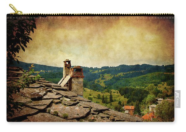On The Top Of The Mountain Carry-all Pouch