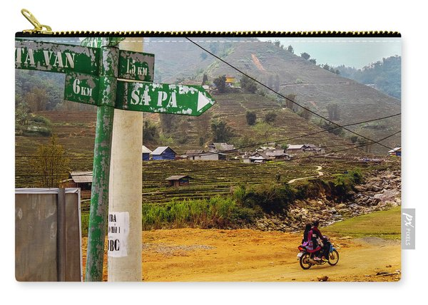 On The Way To Sapa, Vietnam Carry-all Pouch