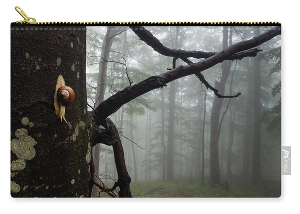 One Day Of The Snail's Life Carry-all Pouch