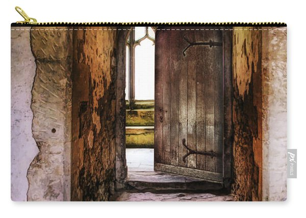 Open Doorway In The Abbey Carry-all Pouch