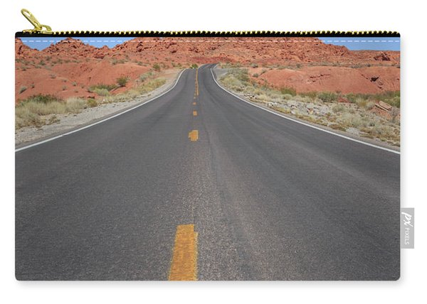 Open Road Valley Of Fire Carry-all Pouch