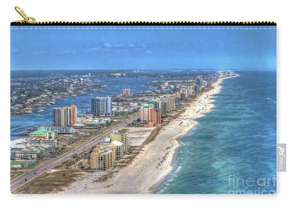 Orange Beach East Carry-all Pouch