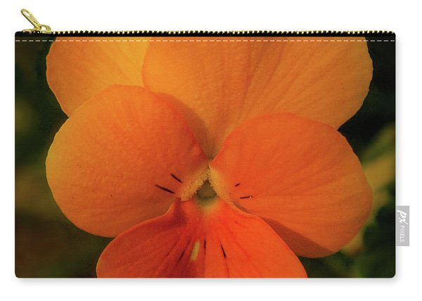Orange Cream Carry-all Pouch