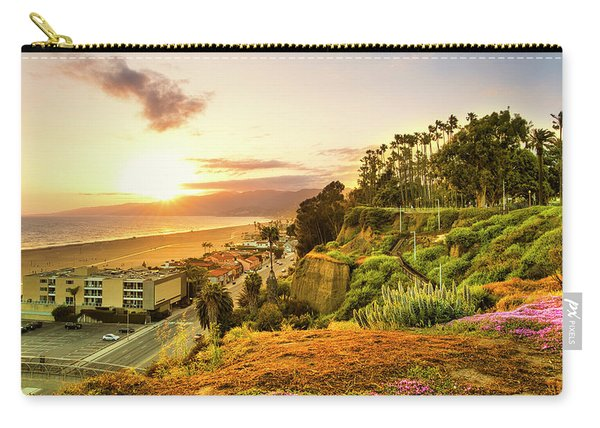 Orange Haze At Sunset Carry-all Pouch