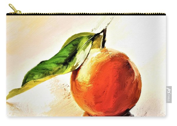 Orange Reflections Carry-all Pouch