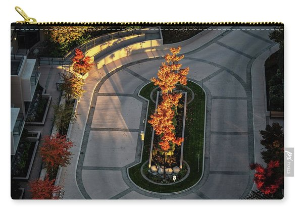 Orange Trees In Autumn Carry-all Pouch