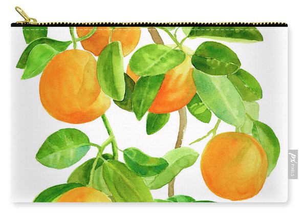 Oranges On A Branch Carry-all Pouch