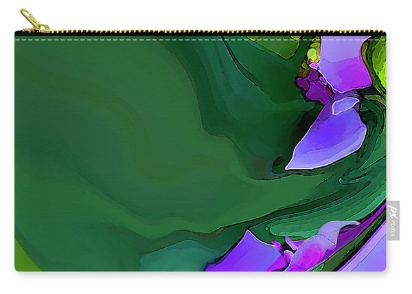 Orchids And Emeralds Carry-all Pouch